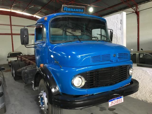 Vendo caminhão MB 1113 1978 truck