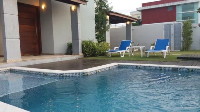 Casa de 3 suites com closet Piscina Privativa no Alphaville Litoral Norte 1 R$ 920.000,00 - Foto 2