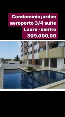 Jardim aeroporto Lauro centro 3/4 suíte 309 mil