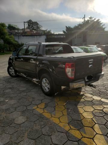 Ford Ranger Limited 2014 - Blindado - Diesel - Aceita troca - Foto 4