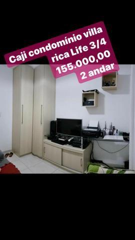 3/4 caji armários cond villa rica com armários nascente 155 mil