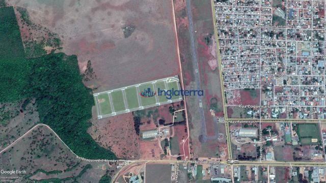 Área à venda, 110000 m² por r$ 4.400.000,00 - novo diamantino - diamantino/mt