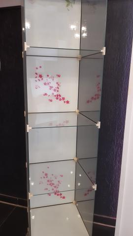 Expositor de vidro - semi novo