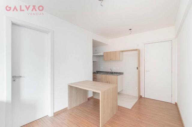 Apartamento com 1 dormitório à venda, 33 m² por R$ 238.156,90 - Centro - Curitiba/PR - Foto 3