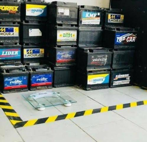 Baterias seminovas diversas 100,00 com noventa dias de garantia - Foto 2