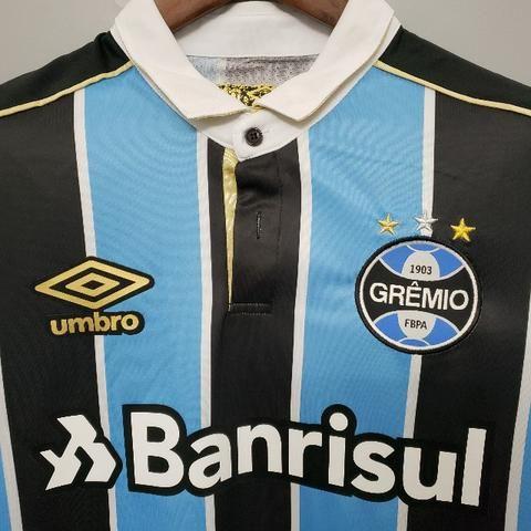 Camisa Grêmio Home 19/20 - Foto 3