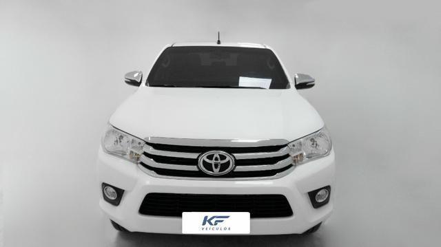 Toyota Hilux 2.8 SRV 2016 Blindado Branco Automático Completo - Foto 2