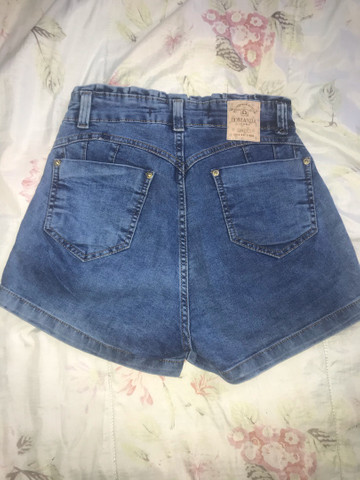 Calção jeans NOVO tm 40