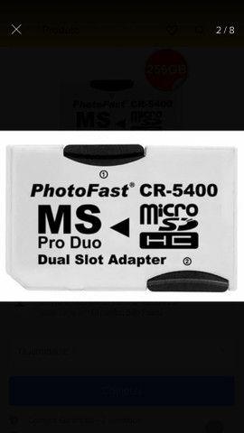 Adaptador PSP cartão de memória  - Foto 2
