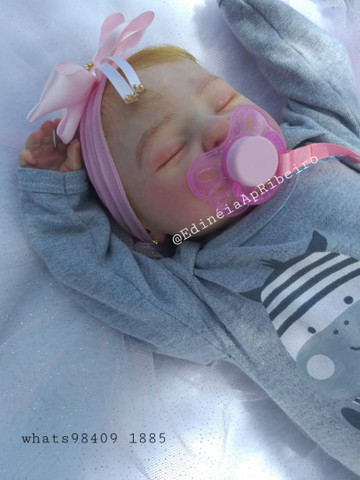 Bebê Reborn Artesanal - Foto 2