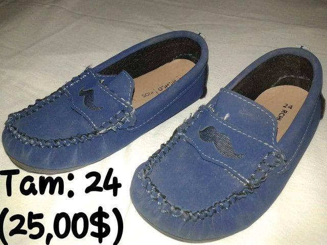 Calçados infantil semi-novos - Foto 4