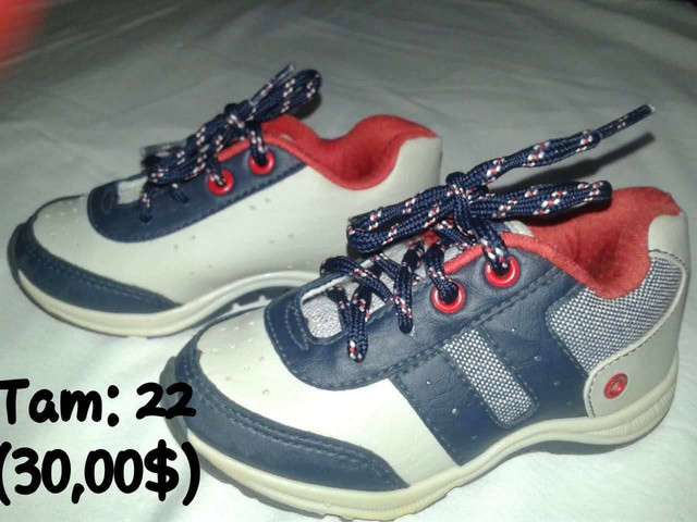 Calçados infantil semi-novos - Foto 2