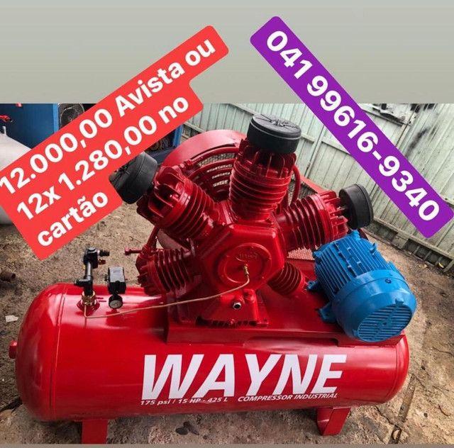Compressor Wayne 60 Pés - Foto 4
