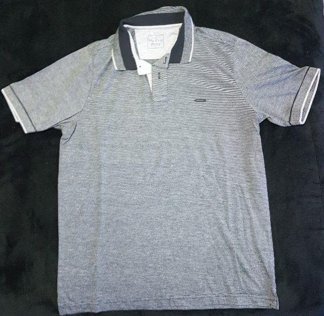 Camisa Polo - My Cris - Tamanho P