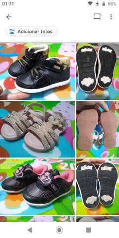 Calçados Bebê Menina 17 ao 21 - Foto 2
