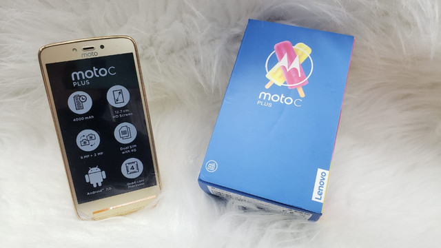 Motorola Moto C plus Novo Na Caixa.