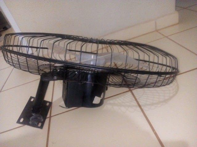 Ventilador Parede usado com Garantia - Foto 4