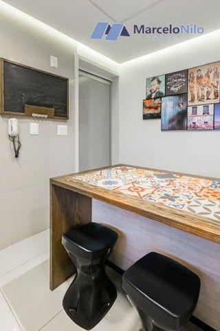 Apartamento  nos Aflitos, 75m2, 3 quartos, 2 suítes, 2 vagas soltas e mobiliado - Foto 10
