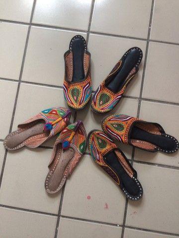 Sapatilhas indianas - Foto 3