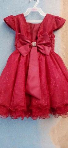Vestido daminha marsala - Foto 2