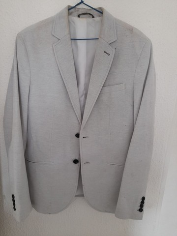 Blazer Branco da Zara Masculino