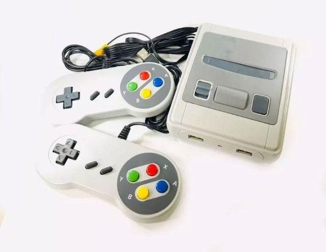 Super Mini Videogame Jogos Classicos 8bits 620 Jogos E 2 Controles - 8080 - Foto 2