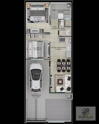 Casa com 2 dormitórios à venda, 76 m² por R$ 225.000,00 - Itacolomi - Balneário Piçarras/S - Foto 8
