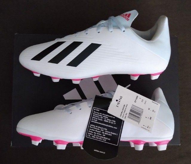 Chuteira Adidas X 19.4 FxG Tam 39 &40 (original / nova) - Foto 5