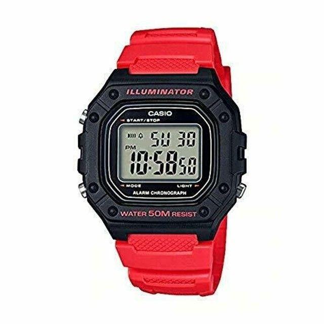Relógio Casio Masculino Digital - W-218