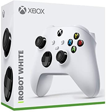 Controle Sem Fio Microsoft Robot White 1914 para Xbox S e X - Branco