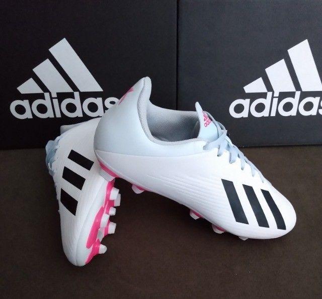 Chuteira Adidas X 19.4 FxG Tam 39 &40 (original / nova) - Foto 3