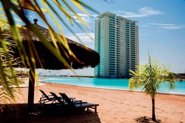 Aluguel-  Brasil Beach  155 m² vista para a lagoa ,3 suítes- Cuiabá MT - Foto 2