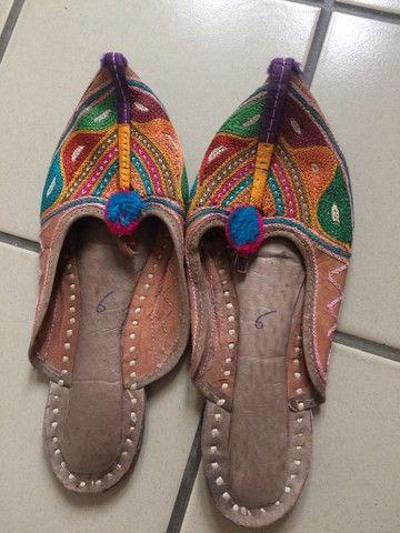 Sapatilhas indianas - Foto 2