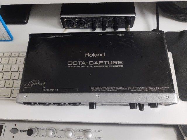Interface Roland Octa-Capture