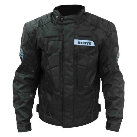 Jaqueta impermeável, com protetores de segurança