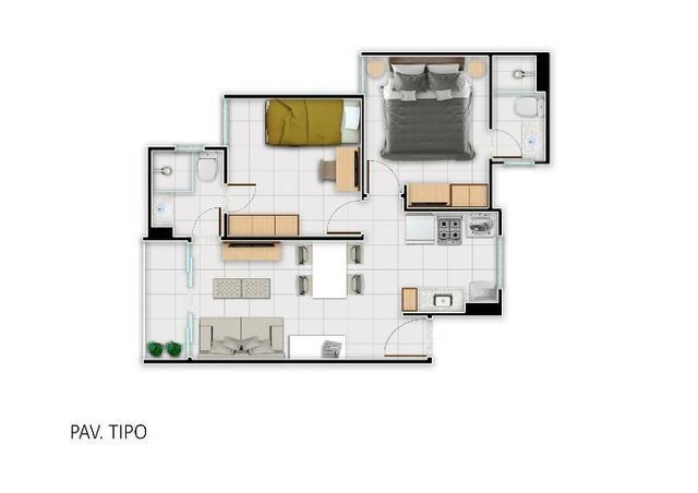 Único Apartamento no Passaré- Elevador- 2 Suites-2 Vagas - Dentro do Minha Casa Minha Vida - Foto 16