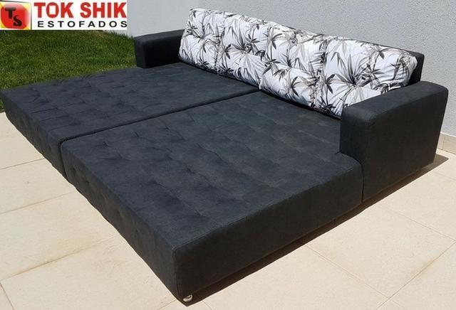 Sofá para área de piscina SF338 revestido em material impermeável - Foto 4