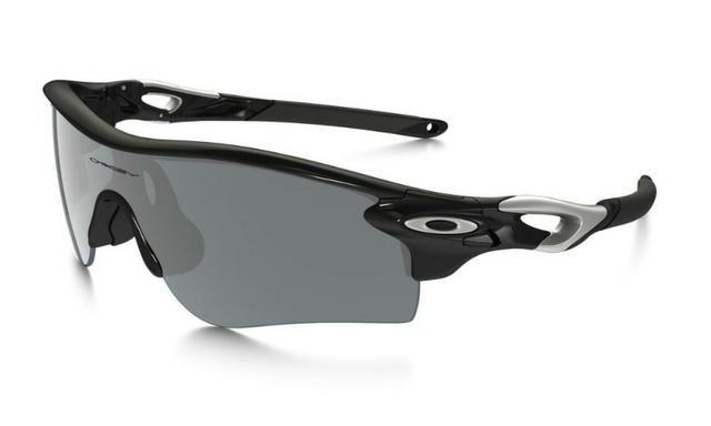 48495ef92 Óculos Oakley Radarlock Polarizado Oo9181 19 - Black Iridium Lens ...