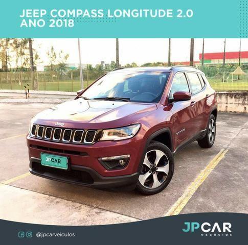 Jeep compass longitude 2.0 automático flex 17/18 - jpcar