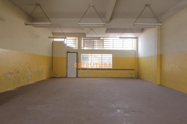 Salão para alugar, 136 m² por r$ 1.200,00/mês - cidade nova - rio claro/sp