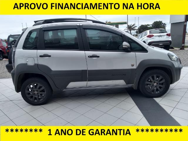 Fiat Idea Adventure C/ Gnv = Financiamento na hora