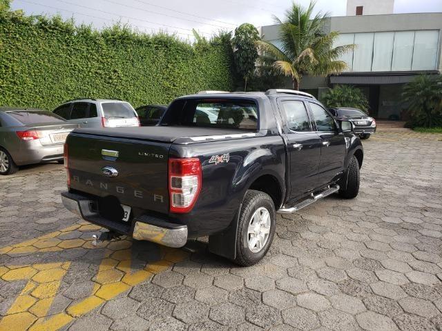 Ford Ranger Limited 2014 - Blindado - Diesel - Aceita troca - Foto 2