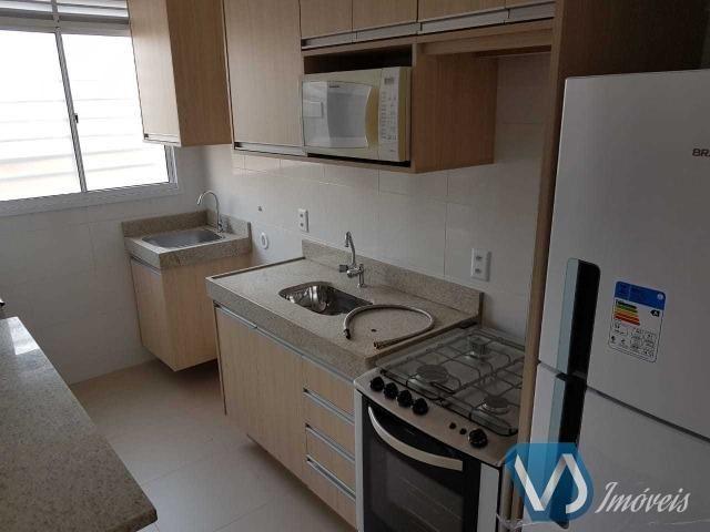 Apartamento mobiliado com 2 quartos no Cond. Lagoa Dourada - Jd. Acquaville, Londrina/PR - Foto 6