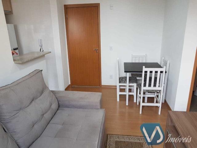 Apartamento mobiliado com 2 quartos no Cond. Lagoa Dourada - Jd. Acquaville, Londrina/PR - Foto 5