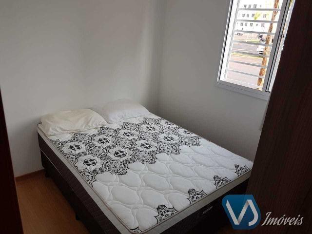 Apartamento mobiliado com 2 quartos no Cond. Lagoa Dourada - Jd. Acquaville, Londrina/PR - Foto 9