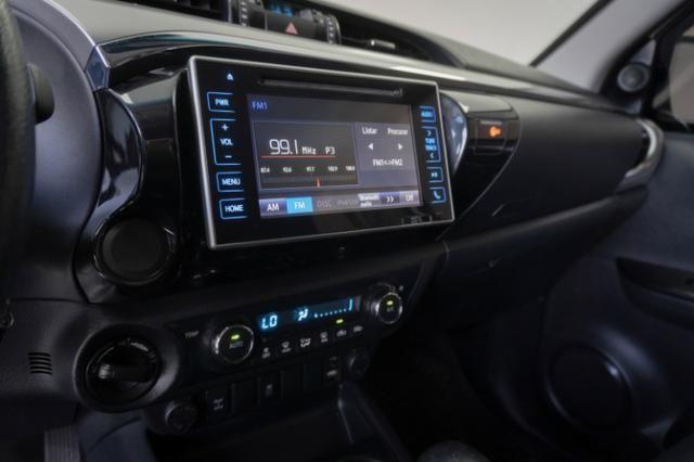Toyota Hilux 2.8 SRV 2016 Blindado Branco Automático Completo - Foto 8