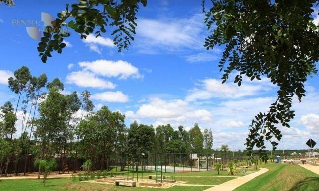Florais do Valle - Terreno à venda, 565 m² por R$ 330. - Condomínio Florais Cuiabá Residen - Foto 6