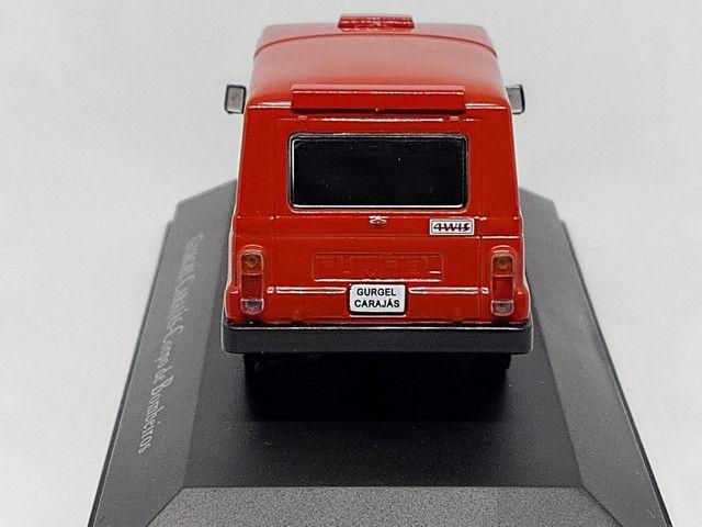 Miniatura Gurgel carajás corpo de bombeiros - Foto 5