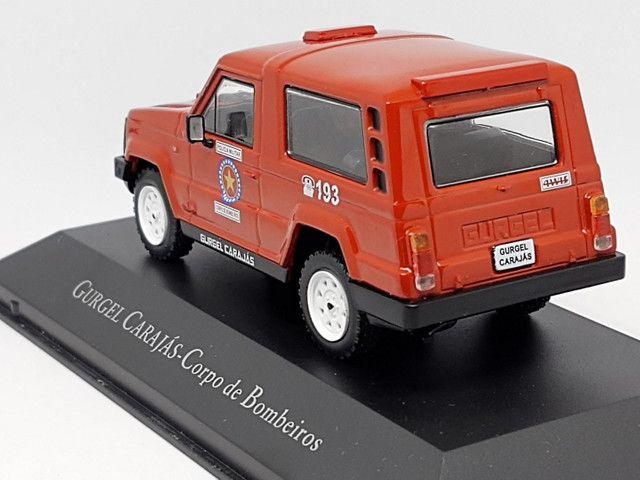 Miniatura Gurgel carajás corpo de bombeiros - Foto 3