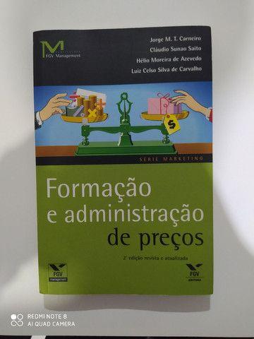 Livro Formação e administração de preços